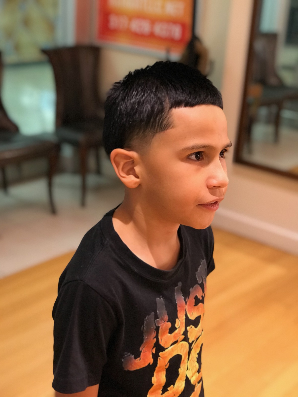 Young Boy's Haircut