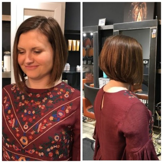 Women's Medium Length Haircut