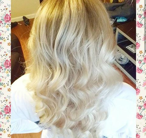 Blond Loose Curls